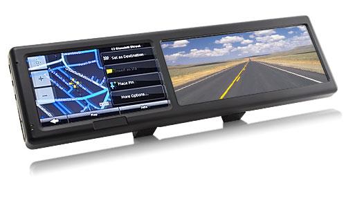 зеркало заднего вида GPS навигационная система
