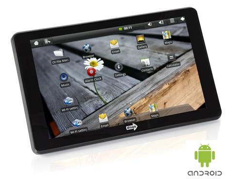 Android таблетка от Disgo